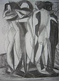Exposición de joven pintor Colombiano